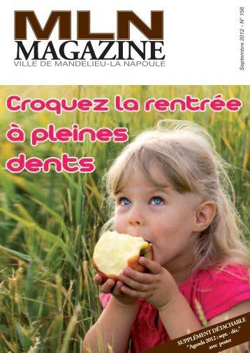 MLN Magazine de septembre 2012 - Mandelieu La Napoule