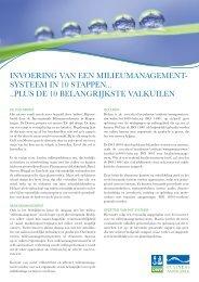 In 10 stappen naar ISO 14001 (pdf)