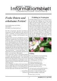 Ausgabe 24.indd - Oberschule Eschen