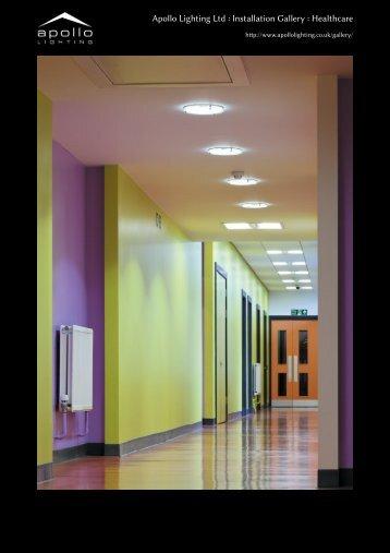 Apollo Lighting Ltd : Installation Gallery : Healthcare