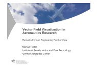 Vector Field Visualization in Aeronautics Research - IDAV