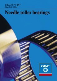 Needle roller bearings - SKF.com