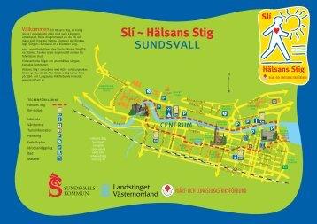 Hälsans Stig - Sundsvall