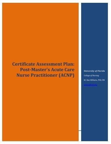 Acute Care Nurse Practitioner - Fora - University of Florida