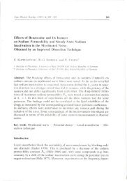 Effects of Benzocaine and Its Isomers on Sodium ... - Gpb.sav.sk