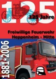 Festschrift 125 Jahre.qxd - Feuerwehr Heppenheim
