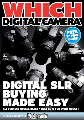 digital camera - Photography Monthly