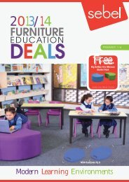 Sebel Furniture Education Deals 2013/14