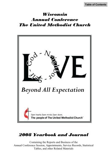 2008 Journal Cover Pages.pub - Wisconsin Conference United ...
