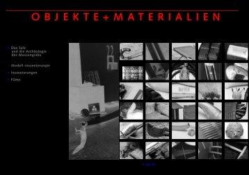 go Objekte / Materialien - HANSIK GEBERT