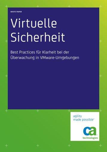 Best Practices für Klarheit bei der Überwachung in VMware - Nimsoft