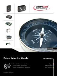 Drive Selector Guide