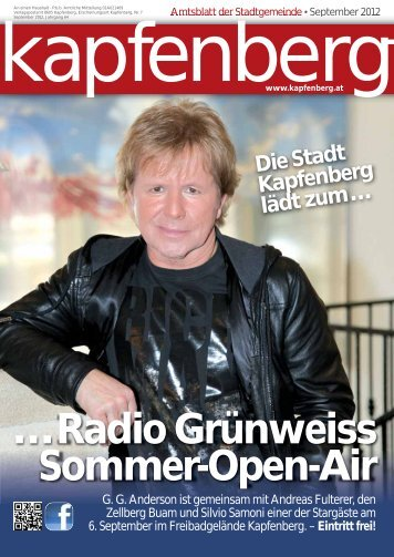 Amtsblatt September 2012 (2,25 MB) - .PDF - Gemeinde Kapfenberg