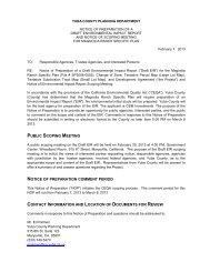 notice of preparation - Yuba County