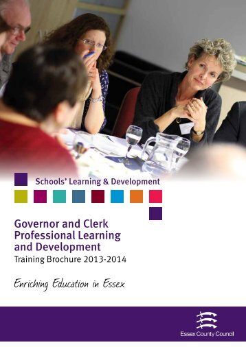 Governor and Clerk training and development ... - the Essex Clerks