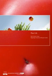 Plant Life, the book - Wageningen UR