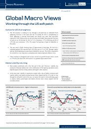 Global Macro Views - Danske Analyse - Danske Bank
