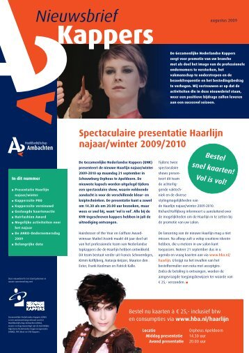 NB Kappers aug09.pdf - Hba