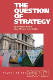 THE QUESTION OF STRATEGY - VSA Verlag
