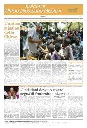 INSERTO SPECIALE MISSIONI - OTTOBRE ... - Webdiocesi