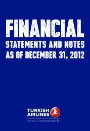 Financial - Turkish Airlines