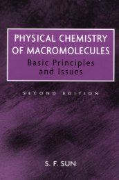 Physical Chemistry of Macromolecules: Basic Principles and ... - UNPA