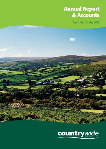 Annual Report & Accounts - Countrywide Farmers