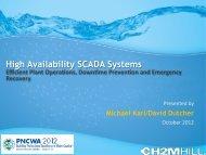 High Availability SCADA Systems - pncwa