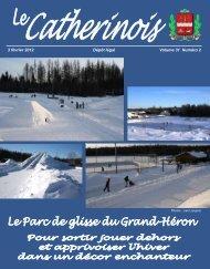 Février 2012 - Ville de Sainte-Catherine-de-la-Jacques-Cartier