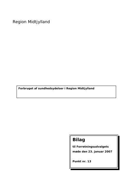 Bilag 13 - Region Midtjylland