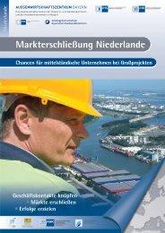 Flyer Niederlande - Außenwirtschaftszentrum Bayern