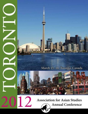 Association for Asian Studies Annual Conference - Jackman ...