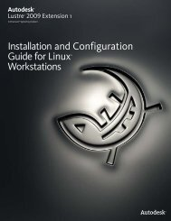 Installation and Configuration Guide for Linux ... - Autodesk