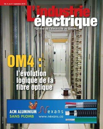 l'évolution logique de la fibre optique - Electrical Business Magazine