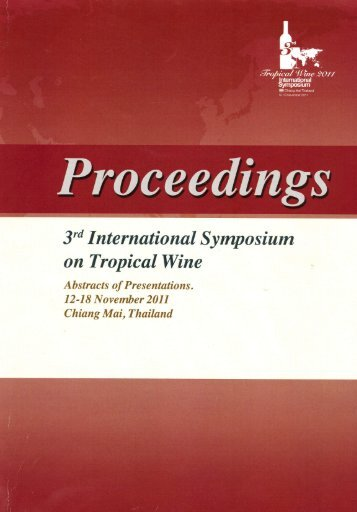 Proceedings - ISTW - Embrapa