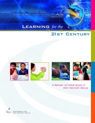 P21 Report_PRINTER - The Partnership for 21st Century Skills