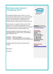 """BSS-Newsletter Spezial - """"Pilztagung 2012"""" - Bundesverband ..."""