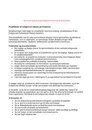 Områdekoordinator til boligsocial indsats