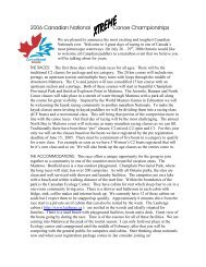 2006 CDN Marathon Canoe Nationals - Chebucto Community Net