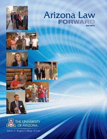 Open PDF Version - College of Law - University of Arizona