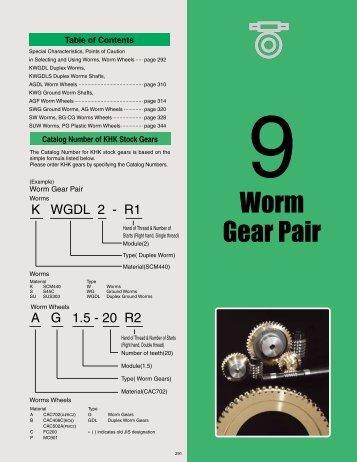 Worm Gear Pair