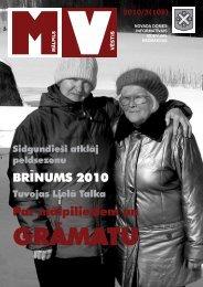 BRĪNUMS 2010 Par mālpiliešiem un - Mālpils