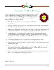 Roulette Problem Solving