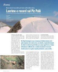 Lacrime e record sul Piz Palü - Ardia.ch