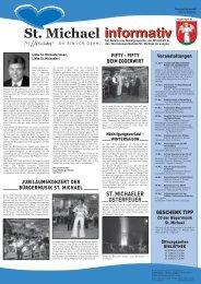 informativ - Tourismusverband St. Michael