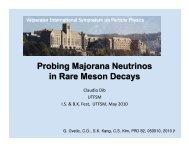 Majorana Neutrinos in Meson Decays, 20