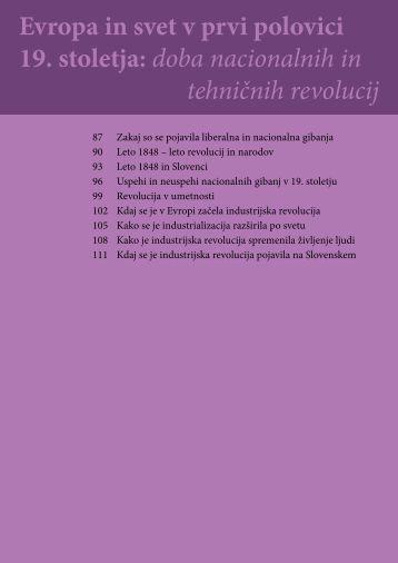 Evropa in svet v prvi polovici 19. stoletja: doba nacionalnih ... - Praktik