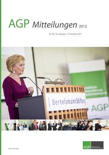 Heft Nr. 354 / 60. Jahrgang - AGP