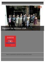 Rapport de Mission USA - hcfdc