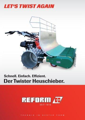 Der Twister Heuschieber. - Reform